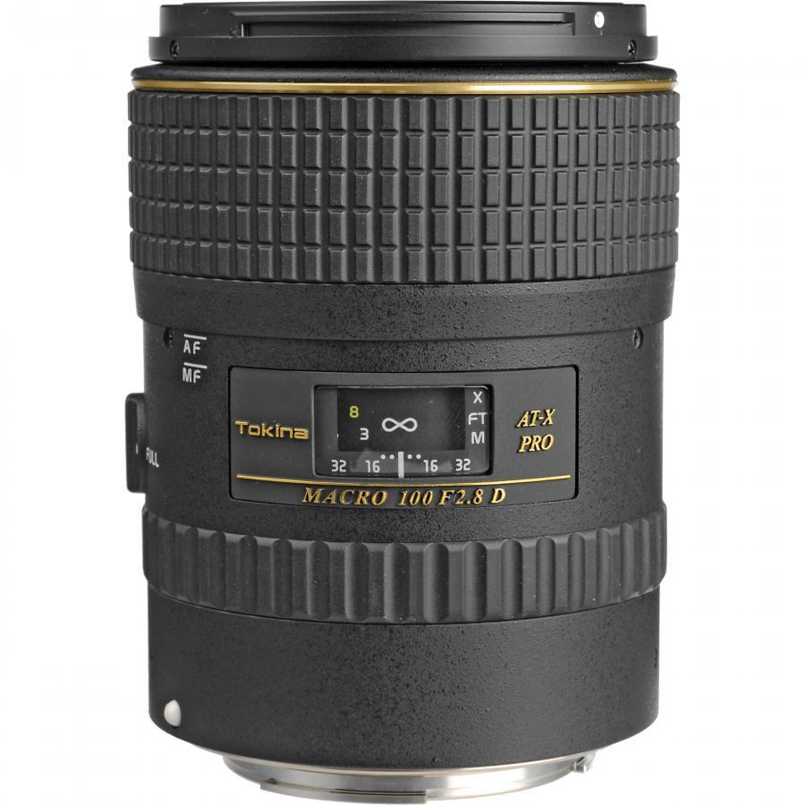 Tokina AT-X PRO AF 100mm f/2.8 D Macro, baj. Canon