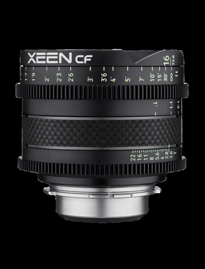 Samyang XEEN CF 16mm T 2,6 baj. Canon EF