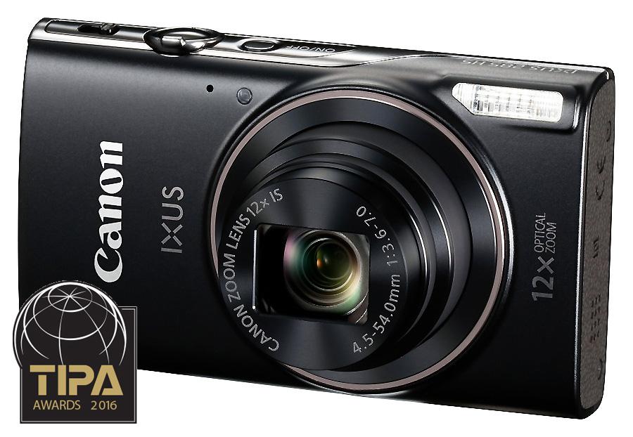 Canon Digital IXUS 285 HS, Čierny