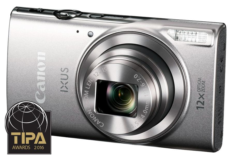 Canon Digital IXUS 285 HS, Strieborný