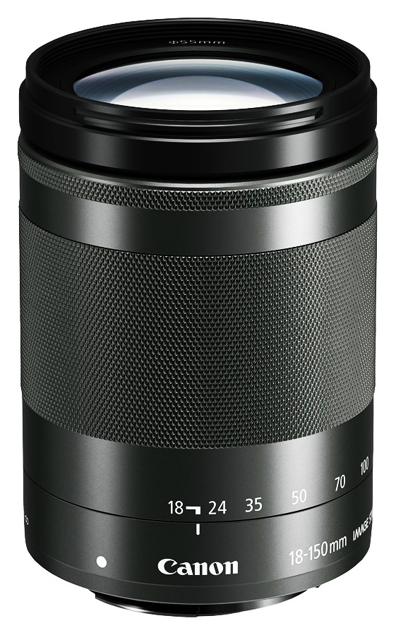 Canon EF-M 18-150mm f/3.5-6.3 IS STM, Čierny + Cashback 50 €