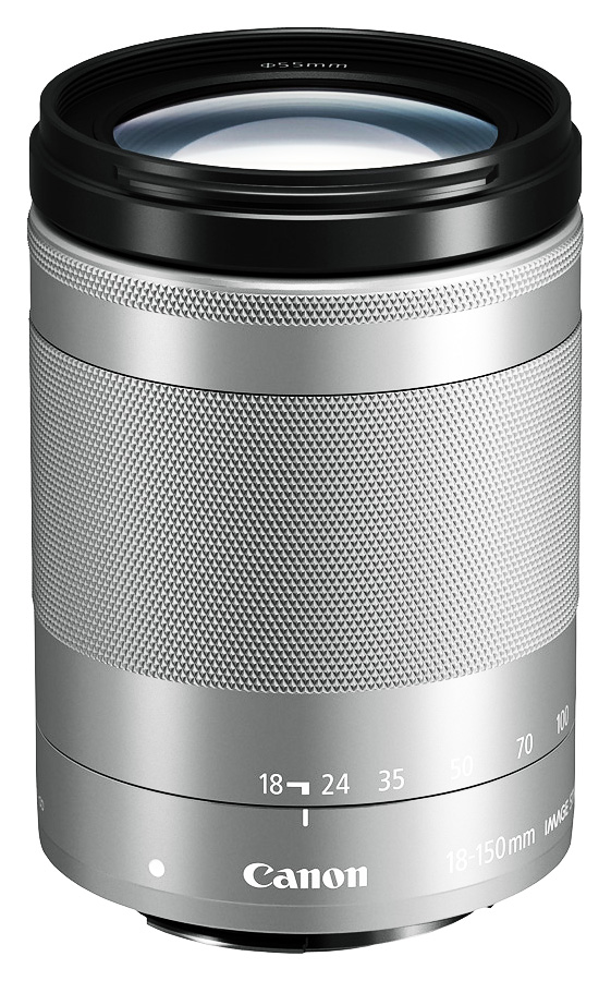 Canon EF-M 18-150mm f/3.5-6.3 IS STM, Strieborný + Cashback 50 €