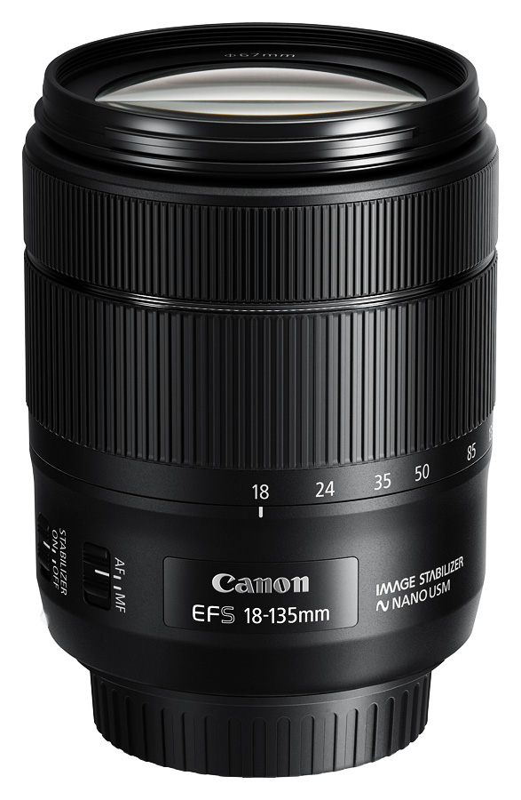 Canon EF-S 18-135mm f/3.5-5.6 IS nano USM CASHBACK 55 €