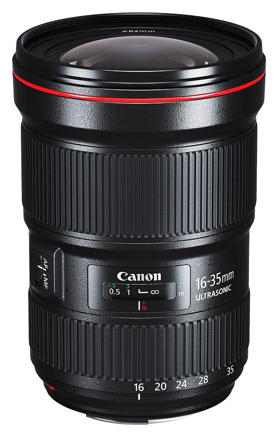 Canon EF 16-35mm f/2.8L III USM + Cashback 250 €