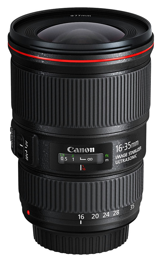 Canon EF 16-35mm f/4.0L IS USM   CASHBACK 100 €