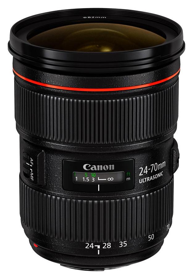 Canon EF 24-70mm f/2.8L II USM + Cashback 200 €