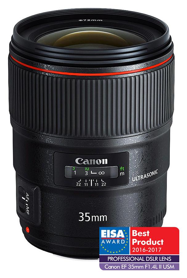 Canon EF 35mm f/1.4L II USM + Cashback 250 €