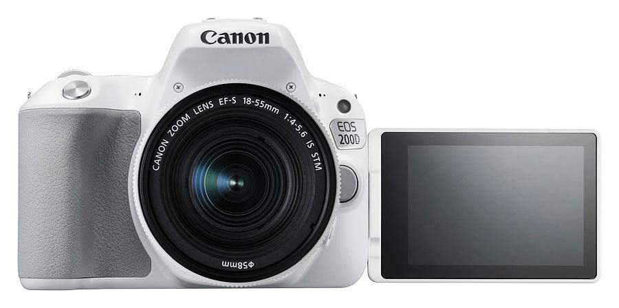 Canon EOS 200D je amatérska digitálna zrkadlovka (DSLR) 2f95ac89e70