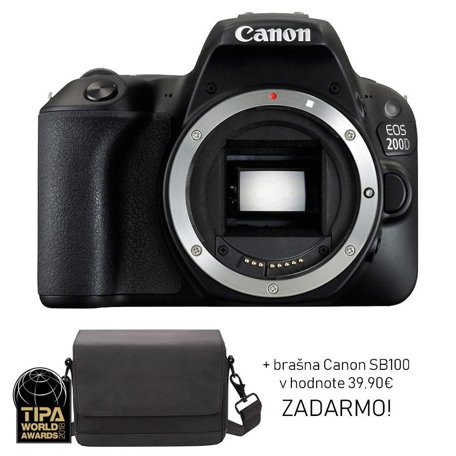 Canon EOS 200D - Telo + brašna ZADARMO - PRO.Laika 86e8175384f
