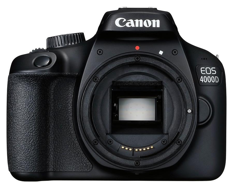 Canon EOS 4000D, Telo