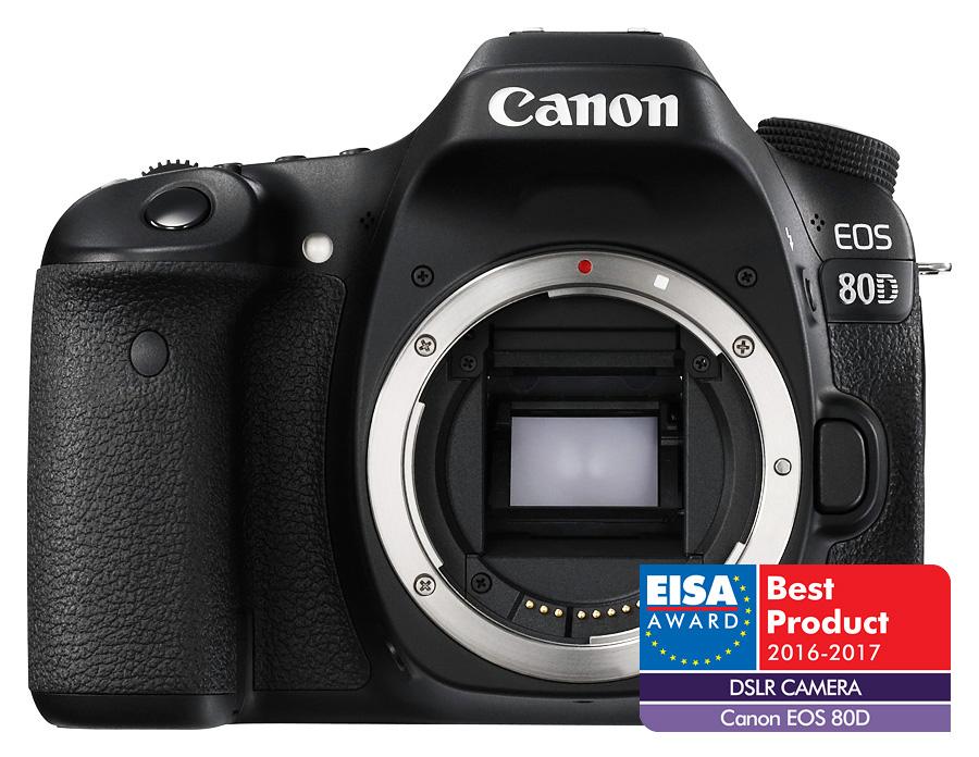 Canon EOS 80D - Telo