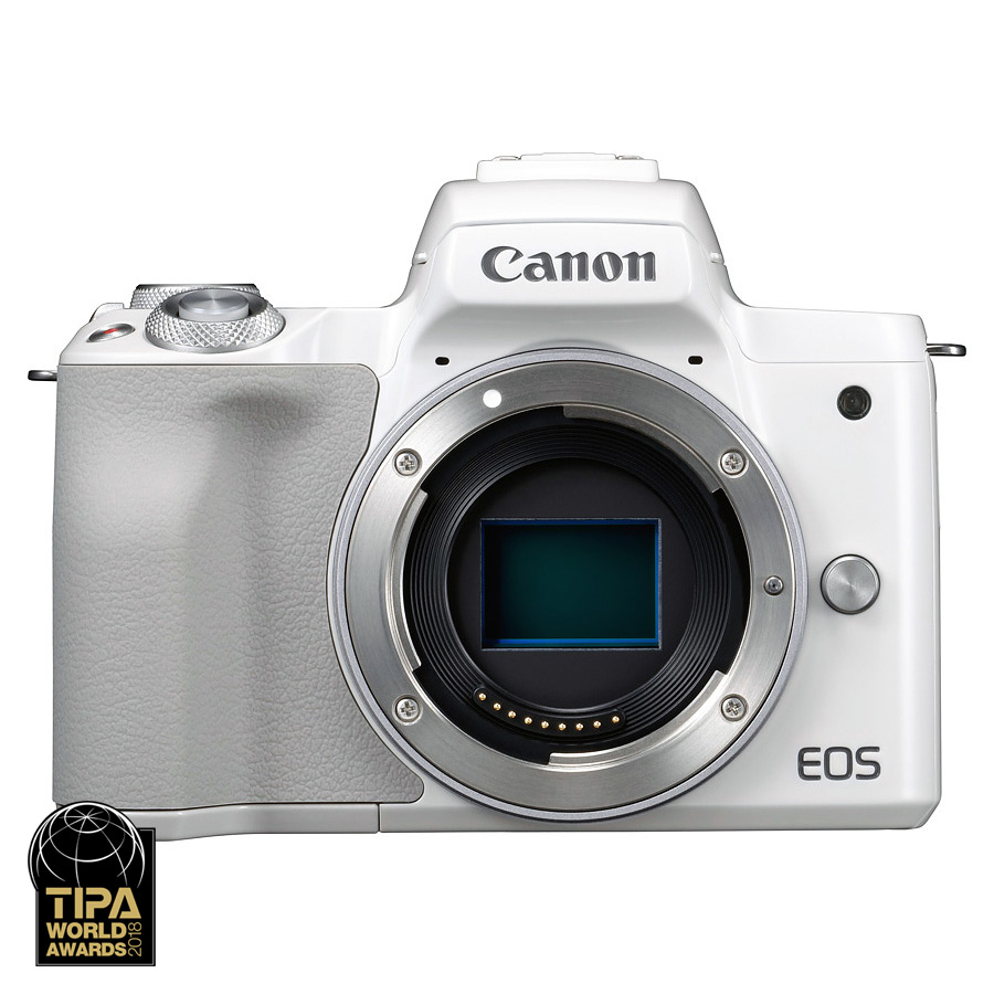 Canon EOS M50 Telo, Biely