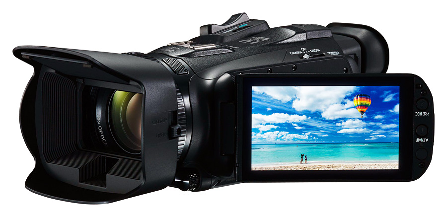 Canon Legria HF G40, Čierna