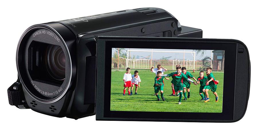 Canon Legria HF R78, Čierna