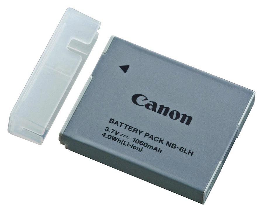 Canon NB-6LH, Akumulátor