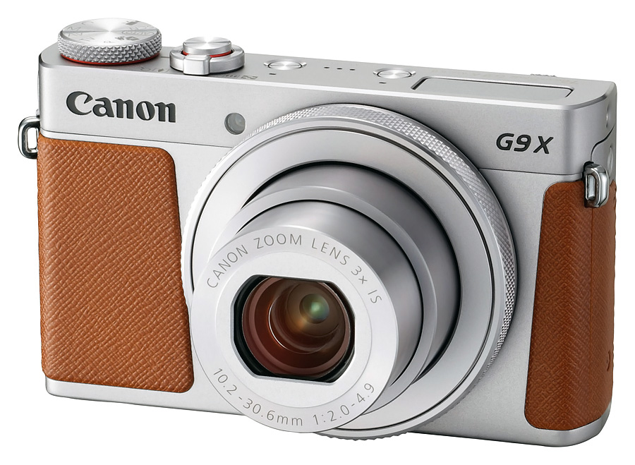 Canon PowerShot G9 X Mk.II, Strieborný+16GB SDHC