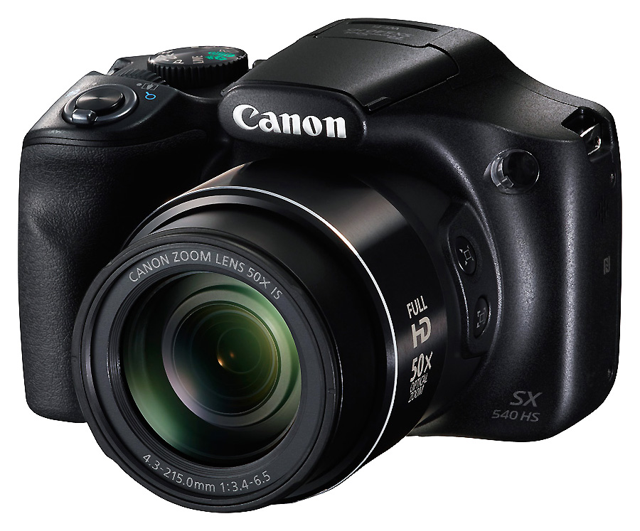Canon PowerShot SX540 HS, Čierny