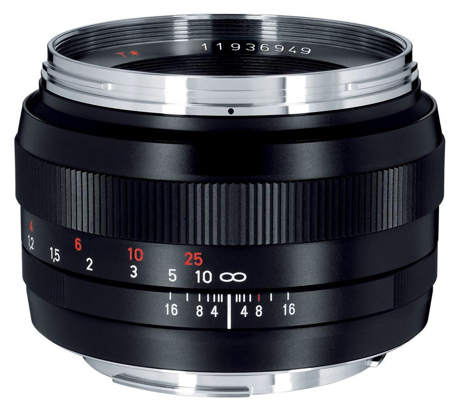 ZEISS 50mm f/1.4 Planar T* ZF.2 baj. Nikon F