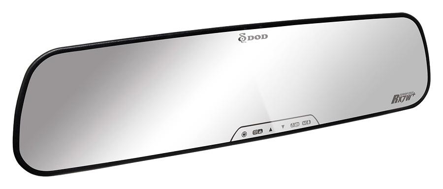 DOD RX7W+ Spätné zrkadlo s autokamerou a s externým GPS modulom