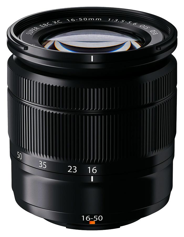 Fujifilm Fujinon XC 16-50mm f/3.5-5.6 OIS, Čierny