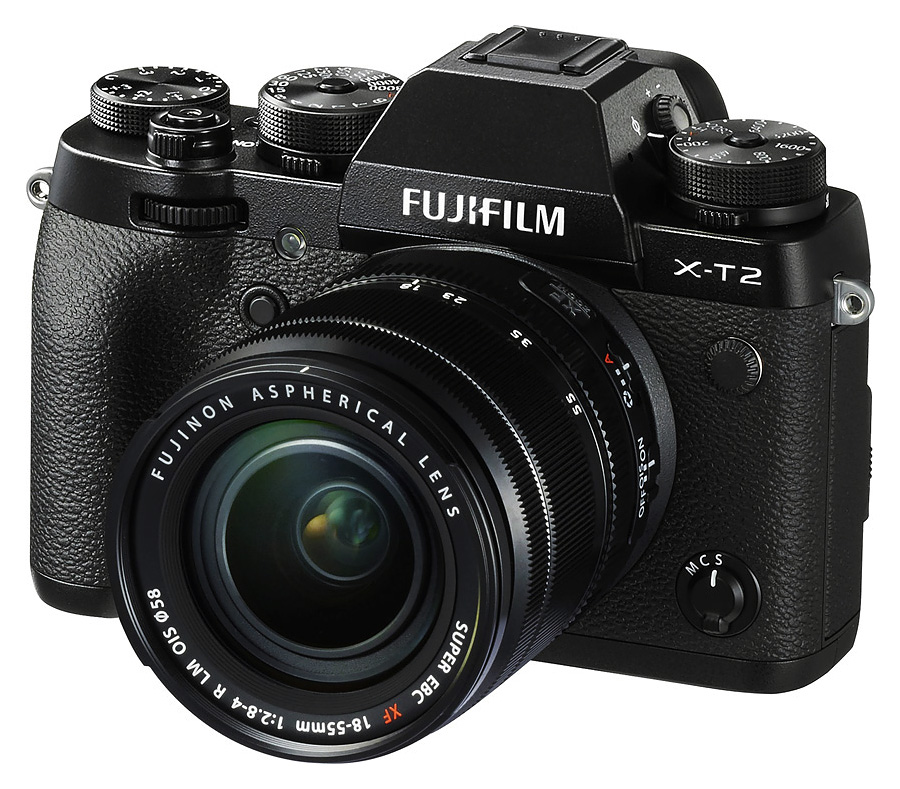 Fujifilm X-T2 + Fujinon XF 18-55mm f/2.8-4 R LM O.I.S., Čierny + Batériový grip zadarmo.