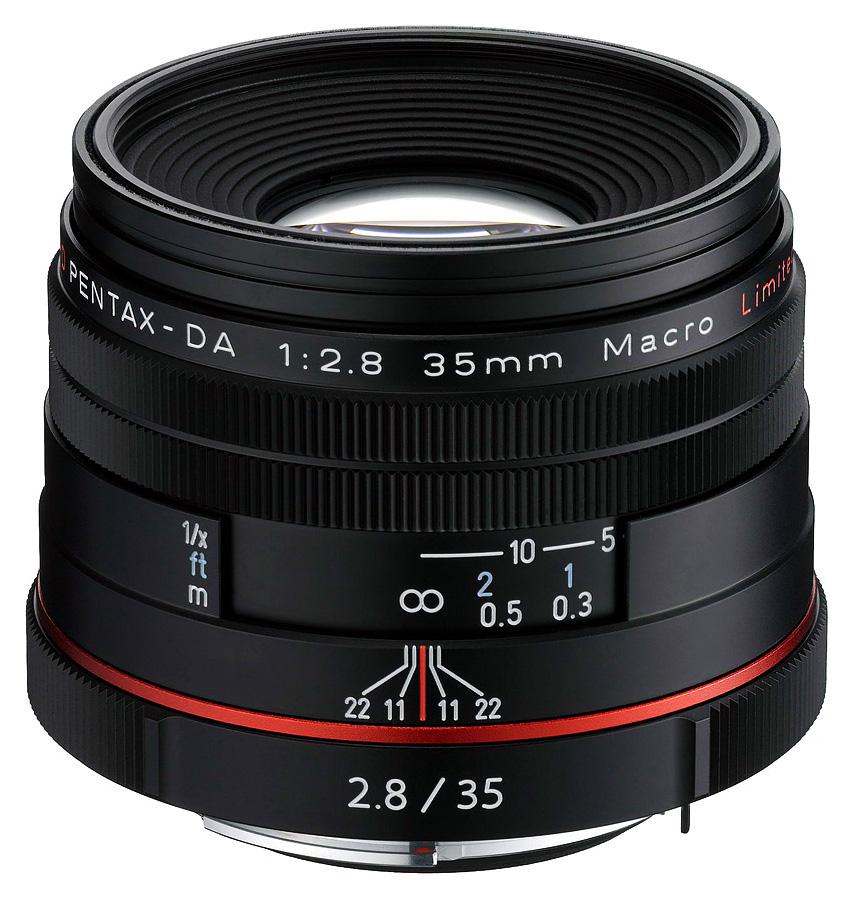 Pentax HD PENTAX-DA 35mm f/2.8 Macro Limited, Čierny