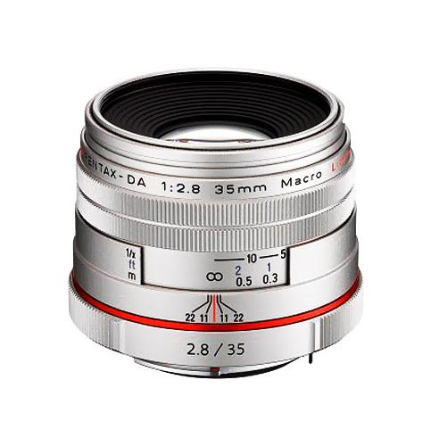 Pentax HD PENTAX-DA 35mm f/2.8 Macro Limited, Strieborný