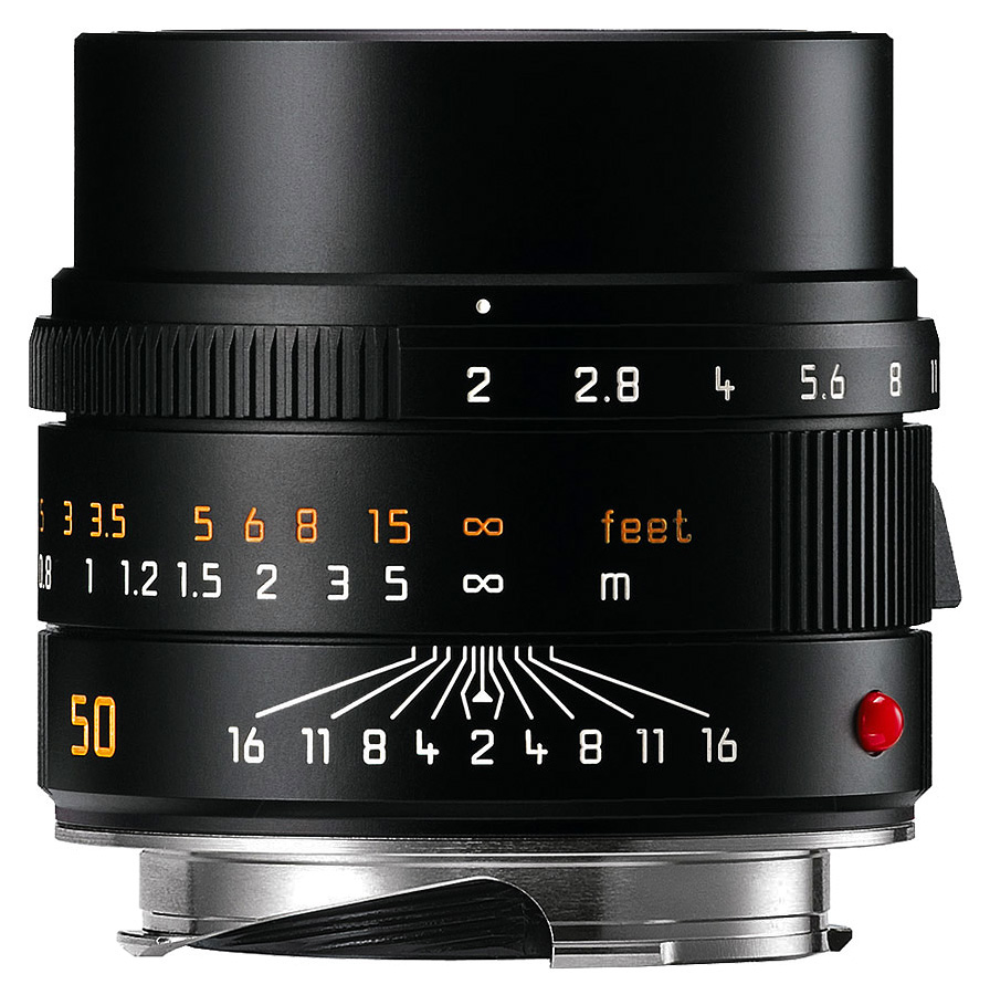 Leica APO-SUMMICRON-M 50mm f/2.0 ASPH, Čierny