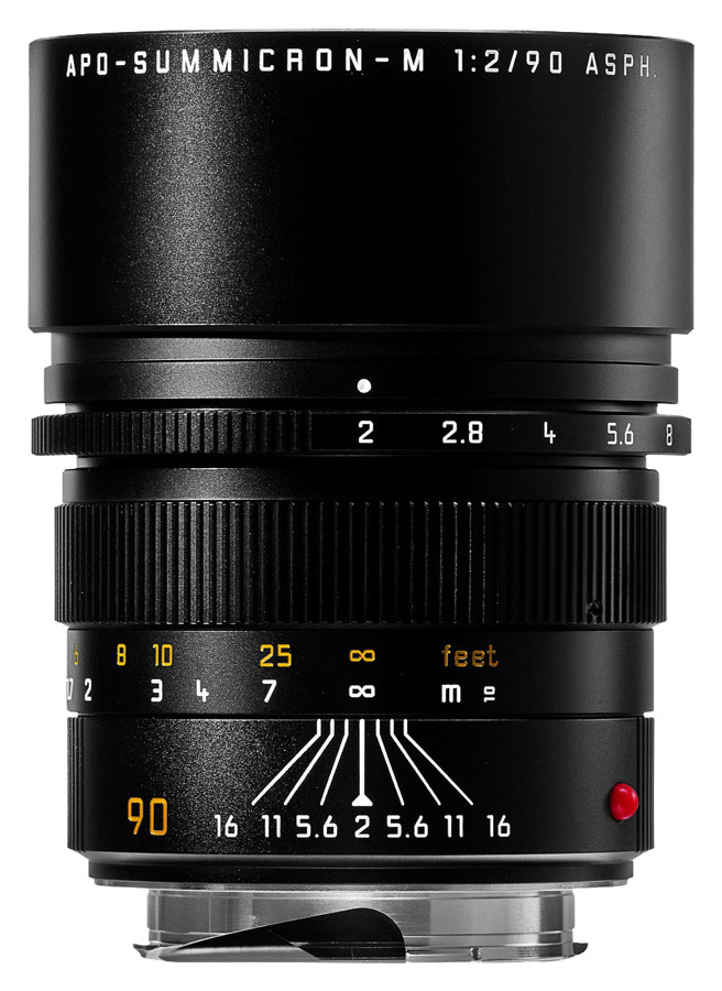 Leica APO-SUMMICRON-M 90mm f/2 ASPH, Čierny