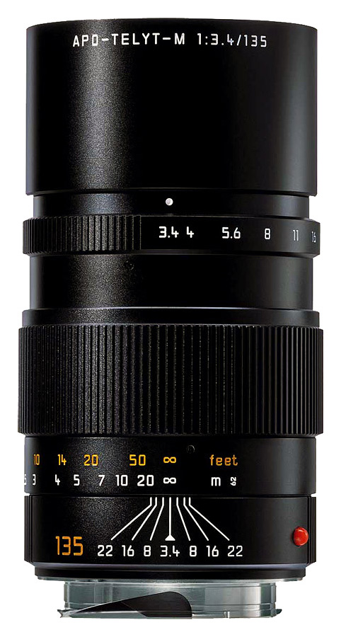 Leica APO-TELYT-M 135mm f/3.4, Čierny