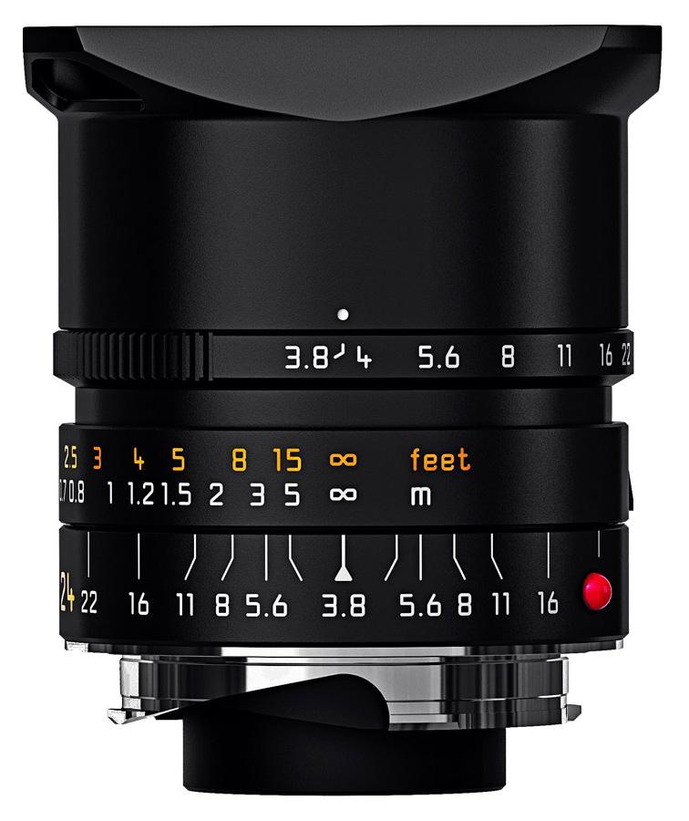 Leica ELMAR-M 24mm f/3.8 ASPH, Čierny