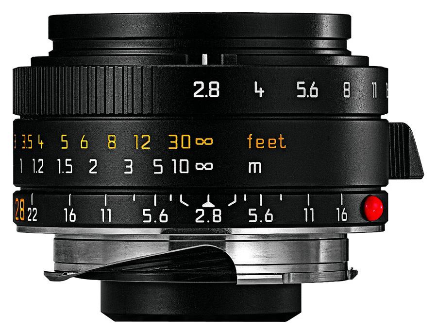 Leica ELMARIT-M 28mm f/2.8 ASPH, Čierny
