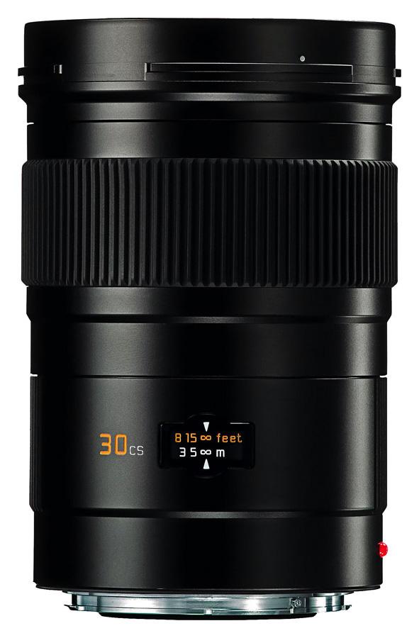 Leica ELMARIT-S 30mm f/2.8 ASPH. CS, Čierny
