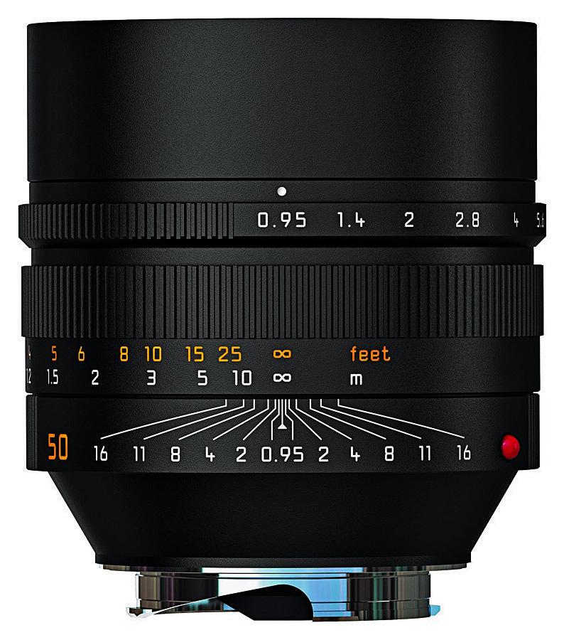 Leica NOCTILUX-M 50mm f/0.95 ASPH, Čierny