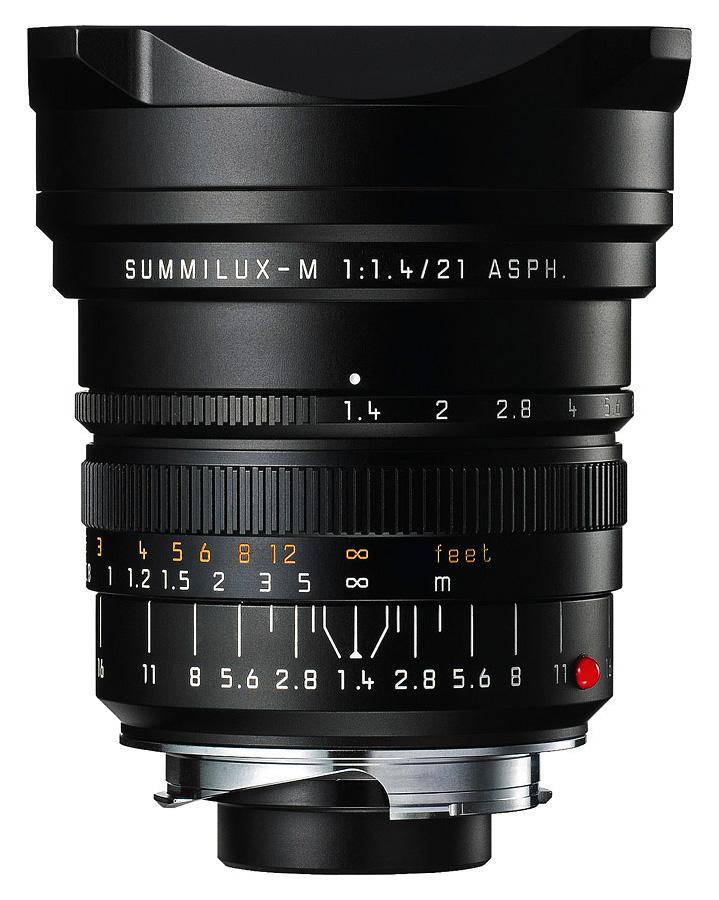 Leica SUMMILUX-M 21mm f/1.4 ASPH, Čierny