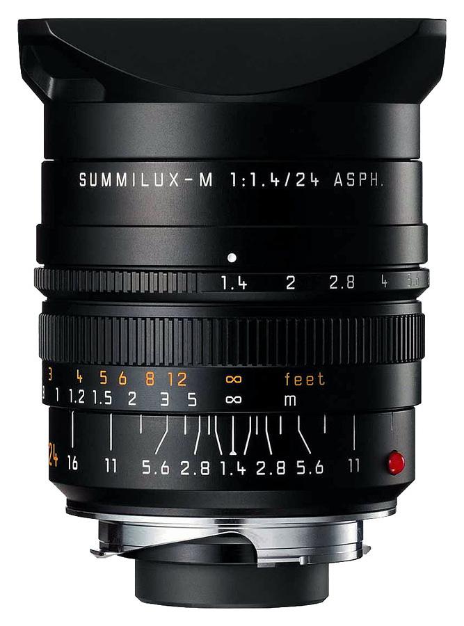 Leica SUMMILUX-M 24mm f/1.4 ASPH, Čierny