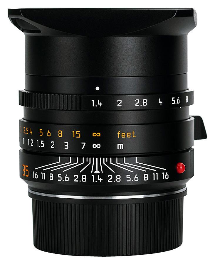 Leica SUMMILUX-M 35mm f/1.4 ASPH, Čierny