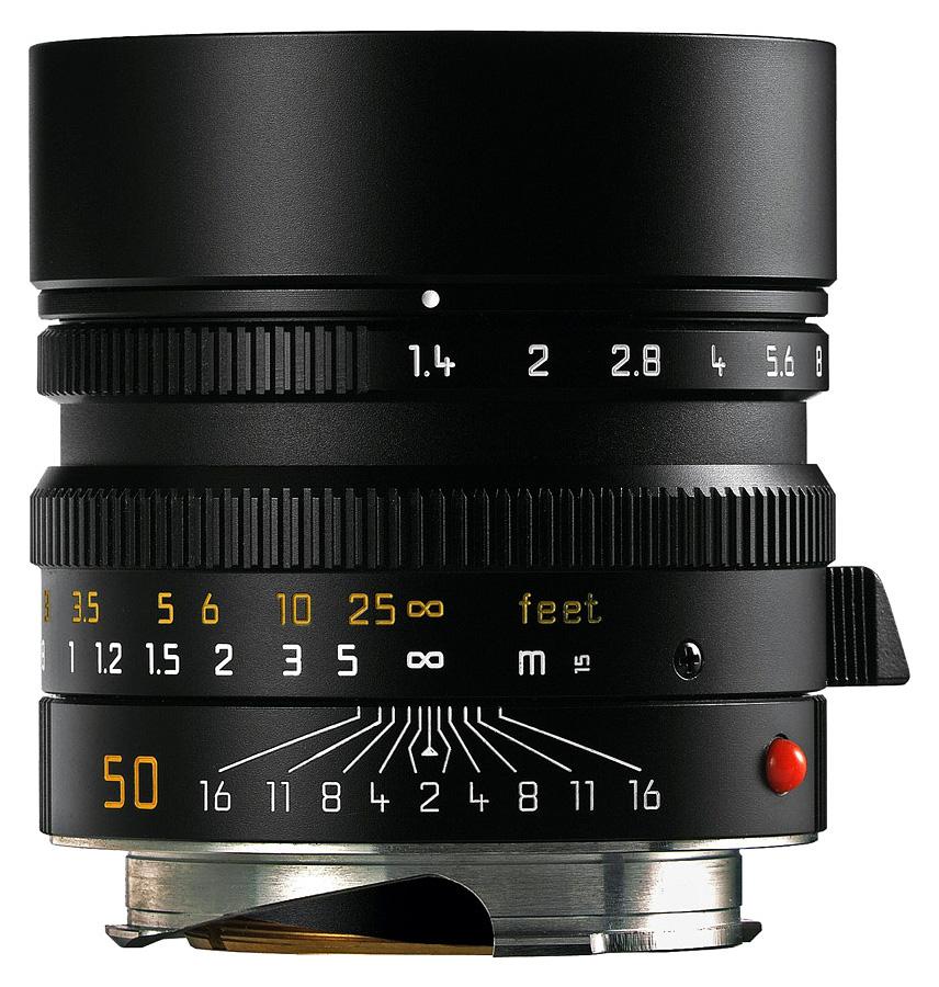 Leica SUMMILUX-M 50mm f/1.4 ASPH, Čierny