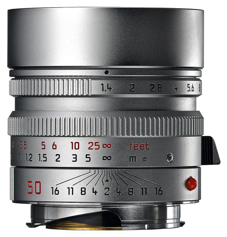 Leica SUMMILUX-M 50mm f/1.4 ASPH, Strieborný