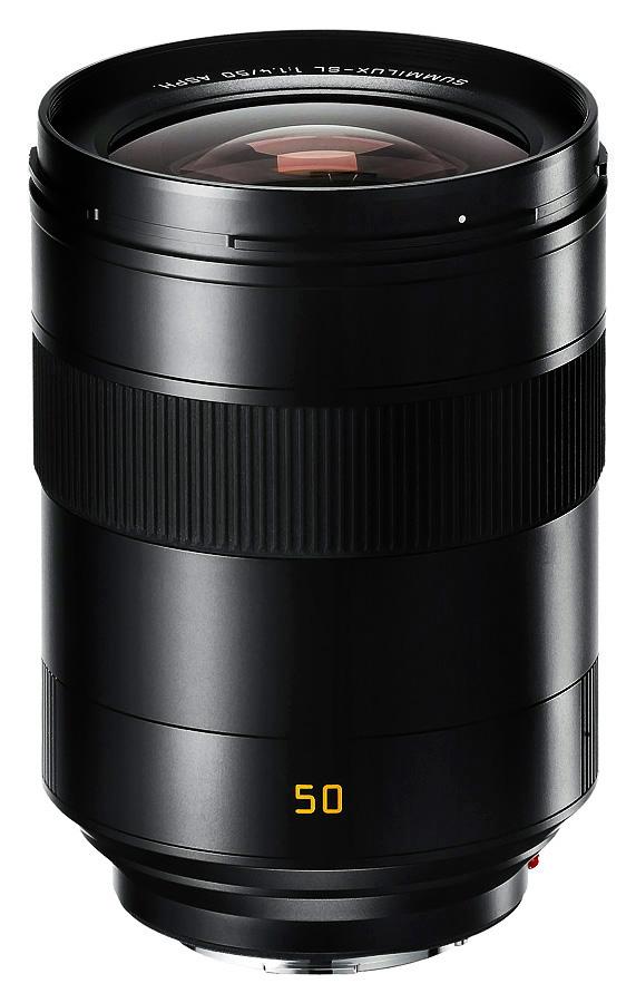 Leica SUMMILUX-SL 50mm f/1.4 ASPH. Čierny