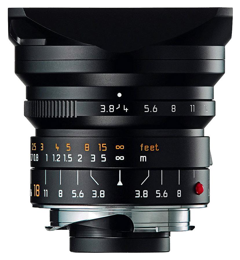 Leica SUPER-ELMAR-M 18mm f/3.8 ASPH, Čierny