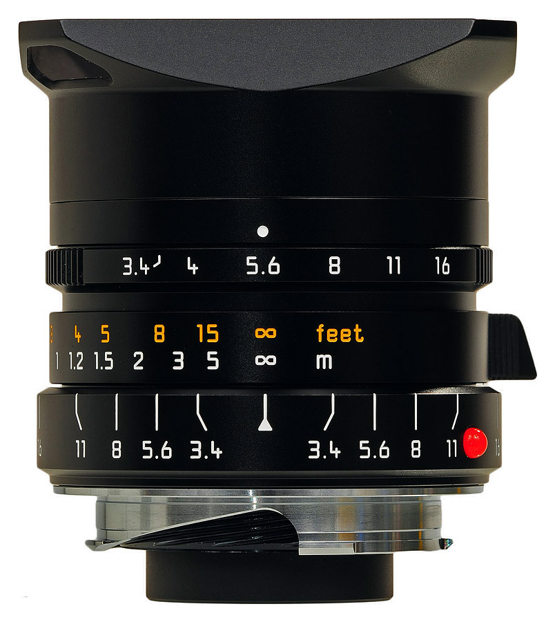 Leica SUPER-ELMAR-M 21mm f/3.4 ASPH, Čierny