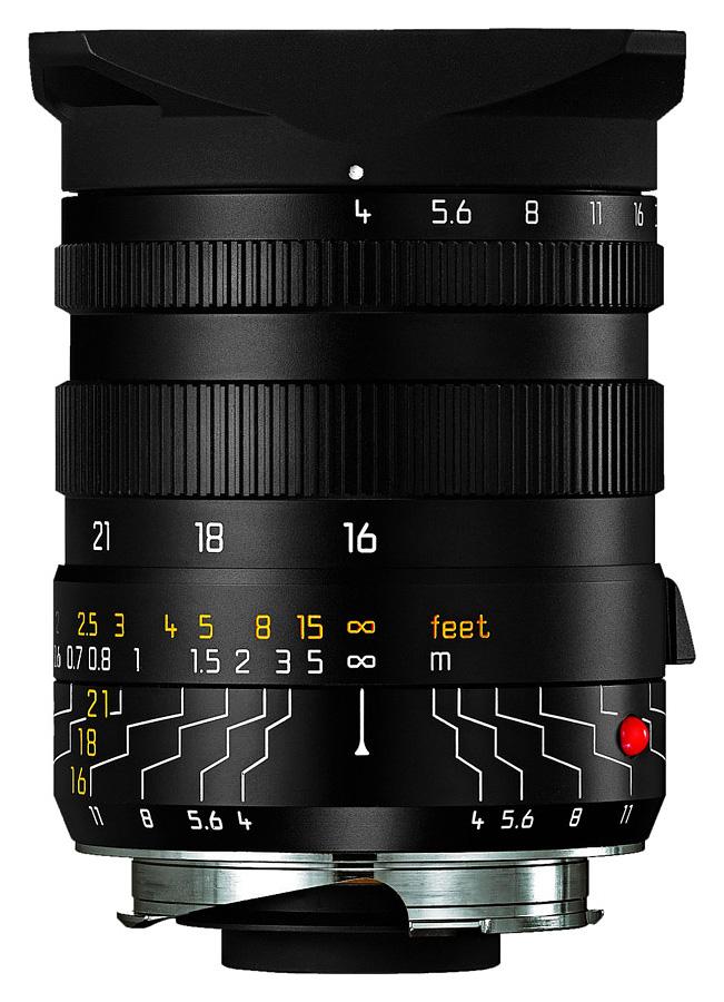 Leica TRI-ELMAR-M 16-18-21mm f/4 + Univerzálny hľadáčik