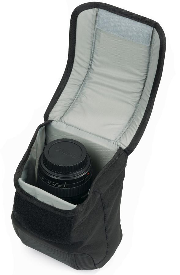 Lowepro S&F Slim Lens Pouch 55 AW, Čierne