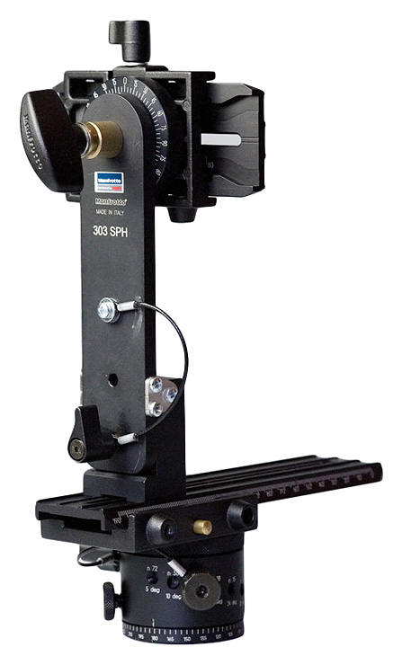 Manfrotto MHPANOVR Virtual reality panoramic head