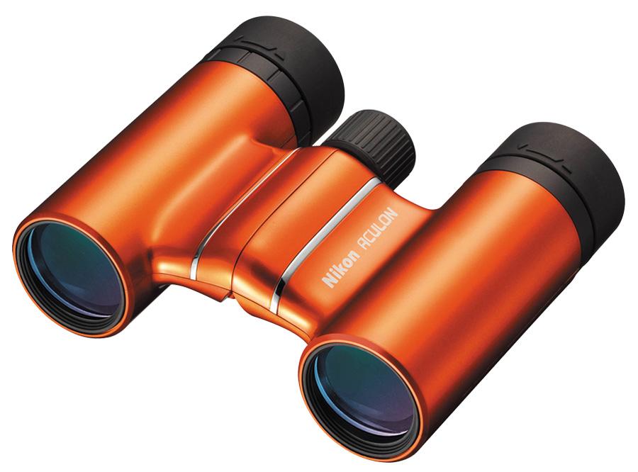 Nikon ACULON T01 8x21 Binokulárny ďalekohľad Oranžový, narodeninová zľava 25 rokov