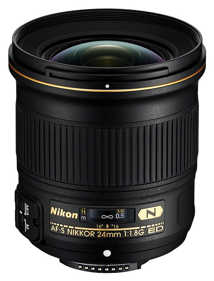 Nikon AF-S Nikkor 24mm f/1.8G ED N