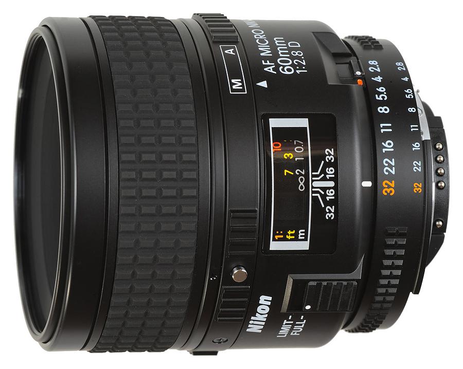 Nikon AF Micro Nikkor 60mm f/2.8D A
