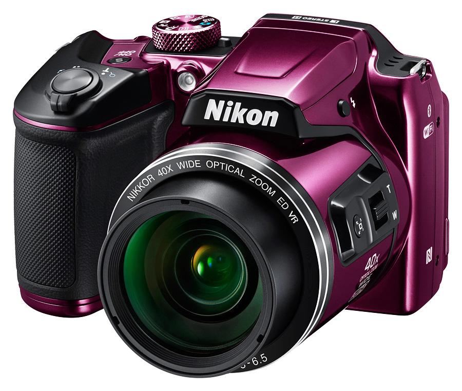 Nikon CoolPix B500, Fialový
