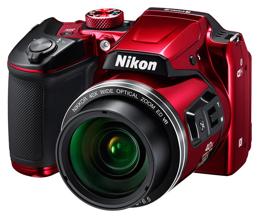 Nikon CoolPix B500, Červený